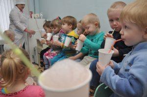 За здоровьем в детский сад