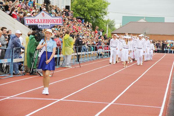 «Королева спорта» - в Тюкалинске