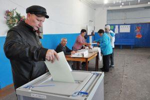 Дружно голосовали - власть выбирали