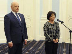 Ирина Роднина и Губернатор Виктор Назаров откроют в Омске новый ледовый дворец