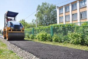 На Тарской — новая дорога, на Худенко – тротуар
