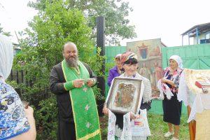 Престольный праздник в Новотроицке