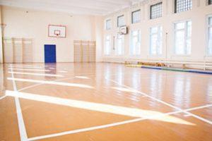В сельских школах — ремонт спортзалов