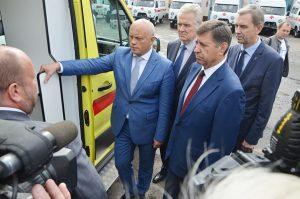 Автопарк районных больниц пополнится новыми «скорыми»