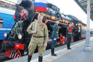 Омск примет участие во всероссийской акции «Поезд Победы-2017»