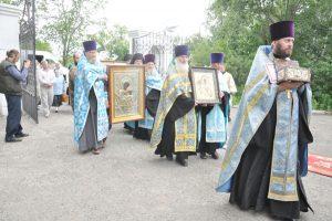 Афонские святыни — на саргатской земле