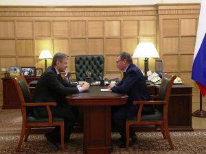 Александр Бурков обсудил с главой Минсельхоза России аграрные перспективы региона