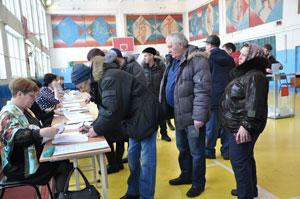 Выборы Президента в Саргатском районе