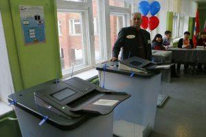 Более тысячи наблюдателей работают на избирательных участках в Омской области