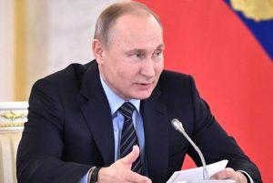 Победа Владимира Путина