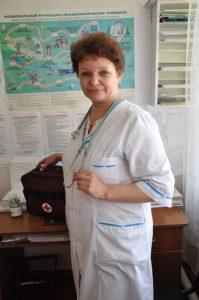 Лучший фельдшер омской области работает в школе
