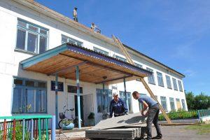 Новые крыши — к 1 сентября