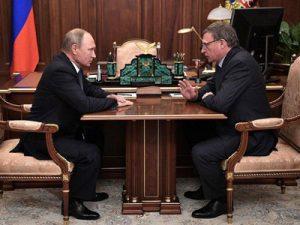 Александр Бурков подтвердил приезд в Омск Владимира Путина