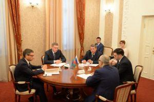 Александр Бурков проводит активную работу по укреплению двустороннего сотрудничества с Азербайджаном