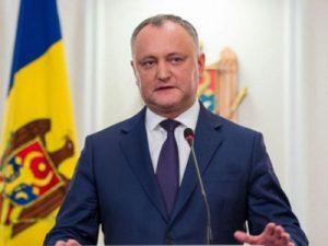 В Омске ждут президента Молдовы
