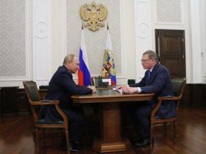 Президент России Владимир Путин: Омск будет одним из самых красивых городов Сибири