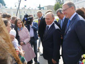 Президент РФ Владимир Путин: Я вижу ситуация в Омской области развивается в позитивном ключе и достаточно энергично