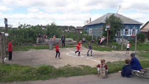 Футбольный праздник на своей улице