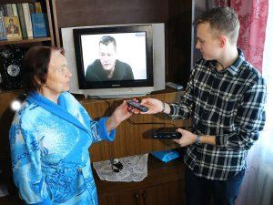 Волонтеры помогут настроить телевизор на «цифру»