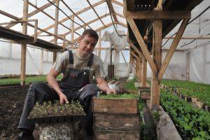 Алексей Ворожищев: «Хороший урожай начинается с хорошей рассады»