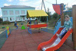 Детская площадка украсила «Бережок»