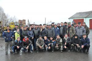 Саргатское ДРСУ — солидный коллектив