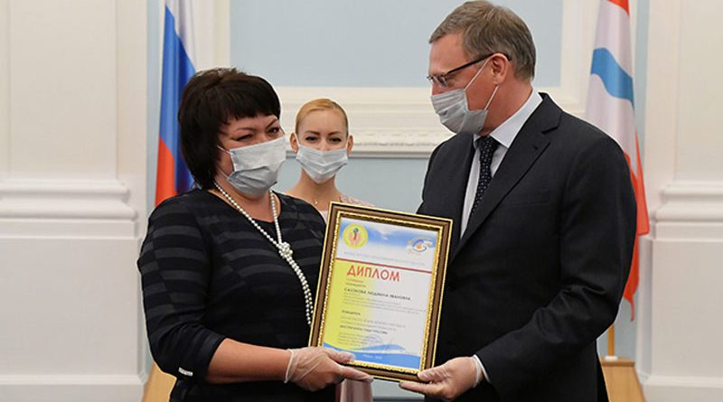 Титул «Воспитатель года» и LADA Granta — Людмиле Сазоновой из Саргатки