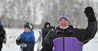 За здоровьем — на лыжню!