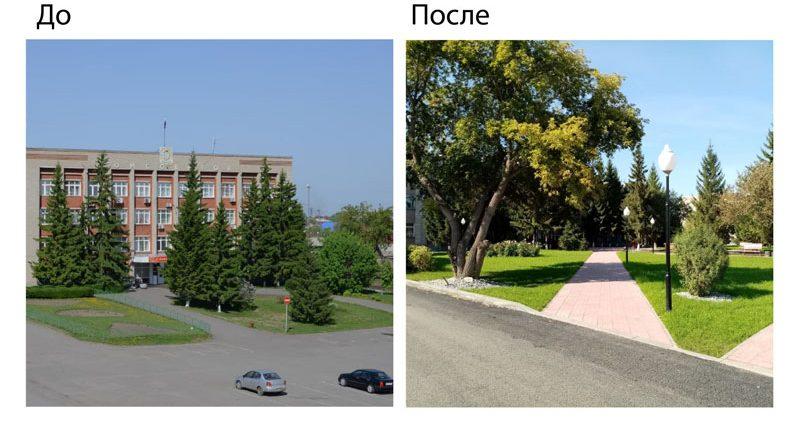 В Омской области определяются подрядные организации по благоустройству общественных территорий