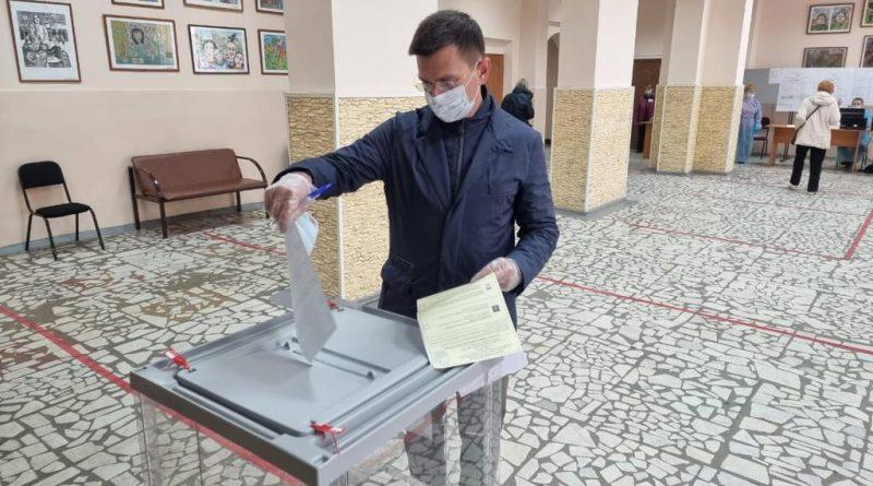 Игорь Антропенко: Выборы проходят в положительной, рабочей обстановке