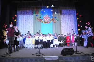 В районном Доме культуры прошел фестиваль для детей дошкольного возраста «Ваша Победа — наша жизнь!»