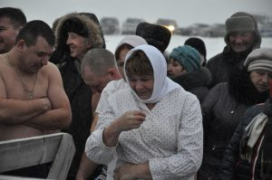 Празднование Крещения Господня у саргатской Иордани